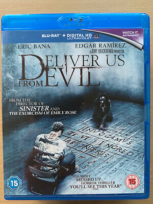 Deliver US From Evil Blu-Ray 2014 Supernatural Horror Film mit Eric Bana