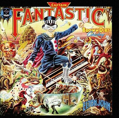 Captain Fantastic & The Brown Dirt Cowboy - Elton John [CD]