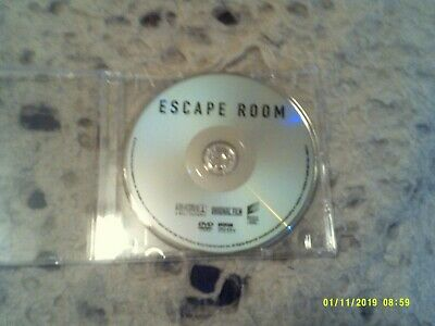 NEVER USED PLAYED Escape Room DVD 2019 Horror Thriller DRAMA