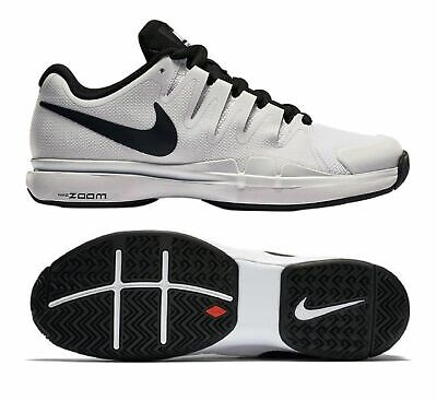 Nike Air Zoom Vapor 9.5 Tour Men Athletic Shoes, White/Black, 631458-101, Sz 15