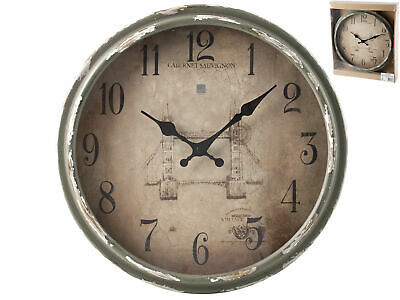 H&H Vintage Wall Clock Cm34 Clock And Alarm Clock