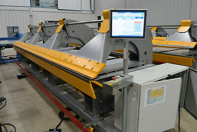 2017 Thalmann TZ 125 18GA 21' CNC Trim Brake Metal Folding Machine