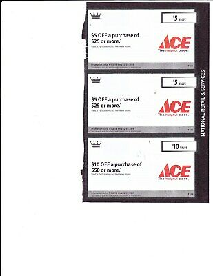 Ace Hardware Coupons - SAVE $20