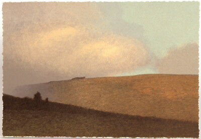 """Small Russell Chatham Original lithograph """"Summer on Marshall Ridge"""" S/N, 2001"""