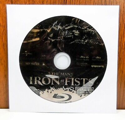 The Man with the Iron Fists - Disc Only (Blu Ray)