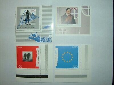 1995 GERMANY STAMPS SELECTION WITH CNR MARGINS x 4 MINT NEVER HINGED (sg2631/6)