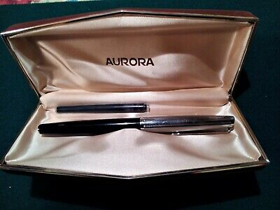 Aurora 98 Penna Stilografica  Anni '60 In Scatola Originale- Fountain Pen Plume