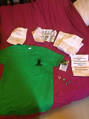 Fan Pack Metallica Paris : Tshirt Localcrew, Pass, Pics, Papers. Collector&rare!