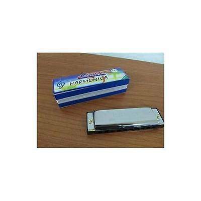 Armonica A Bocca Hower Blues Harp Chiave C G In Do Sol 16 Fori 32 Ottave