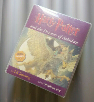 Harry Potter and the Prisoner of Azkaban Read by Stephen Fry - Audiobook Tape