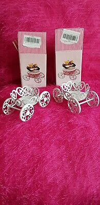 2 Cinderella Carriage Cupcake Holders/stands for birthday party,cake decorating