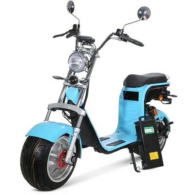 RE05 CityCoco Big Wheel Harley Scooter Motorroller Elektroroller 1.5kW 60V/20Ah