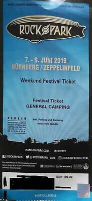 Rock im Park 2019 3-Tagesticket - General Camping 07 - 09.06.2019