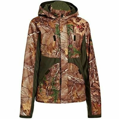 1fa08948ab013 Under Armour Women's Camo Gunpowder Jacket CGI Scent Control STORM 1247075- 946
