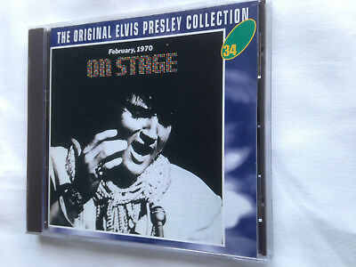 Elvis Presley - The Original Cd Collection Vol 34 -  On Stage