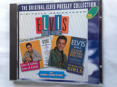 Elvis Presley - The Original Cd Collection Vol 29 -Double Features Live A Little
