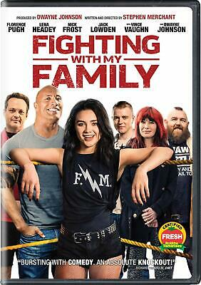 Fighting With My Family: DVD 2019 (Disc Only) (Free Fast Shipping)