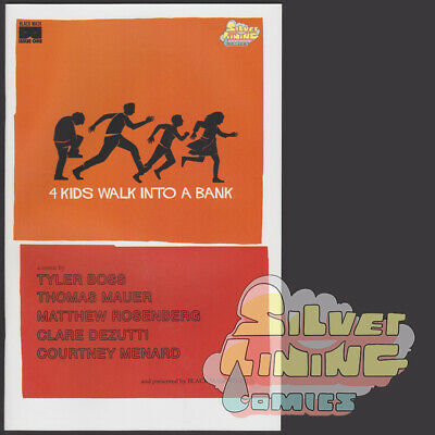 4 Kids Walk Into A Bank #1 Exclusive Variant Ltd To 300 Black Mask