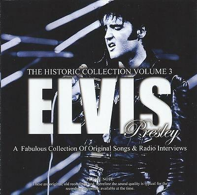 Elvis Presley - The Historic Collection Vol 3 Cd