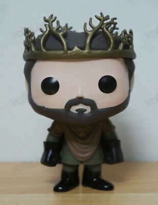 TV Show Game of Thrones Renly Baratheon #12 PVC Figure With Box & POP Protector
