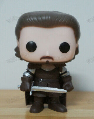 TV Show Game of Thrones Toy - Robb Stark #08 PVC Figure With Box & POP Protector