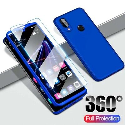 Case & Screen Protector For Samsung Galaxy A40 A50 A70 Shockproof Full 360 Cover