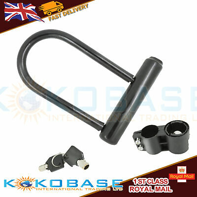 Bike U/D Type Bicycle Lock Strong Cycle Scooter Bike Motorcycle Motorbike Uk
