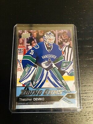 Upper Deck Series Two 16-17 Thatcher Demko Young Guns Rookie Card