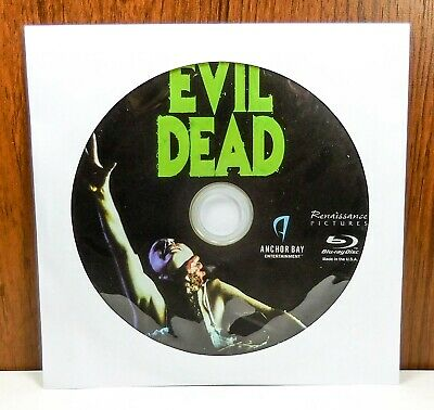 The Evil Dead 1981 - Disc Only (Blu Ray)