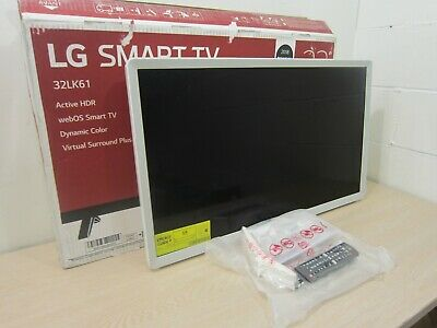 "Lg 32Lk610 32"" 720P Led Lcd Smart Tv, 3X Hdmi/Wifi Hdtv, White"
