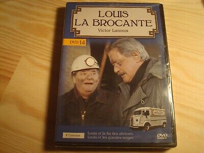 DVD NEUF :  LOUIS LA BROCANTE  '' DVD n 14 ( 2 episodes )