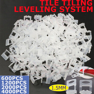 600/1200X Clips Tile Leveling System Floor Wall Spacer Tiling Tool Pliers Set AU
