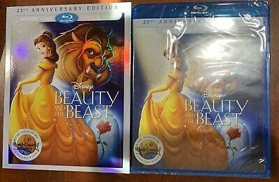 Beauty and the Beast (Blu-ray/DVD, 2016, 2-Disc Set, 25th Anniversary Edition*