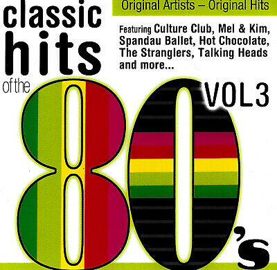 Classic Hits Of The 80'S Volume 3  (2009)  Brand New Sealed Music Album Cd