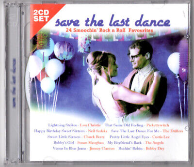 Save The Last Dance 24 Smoochin Rock n Roll Favourites Album 2 DISC   NEW SEALED