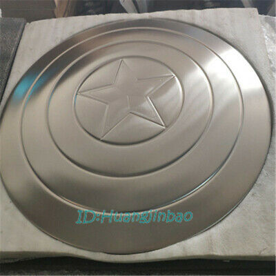 Unpainted 1/1 Captain America's Shield Prop Cosplay HCMY DIY Collection Display