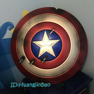 Captain America's Shield Prop Cosplay HCMY Battle Damaged In Stock Collection GK