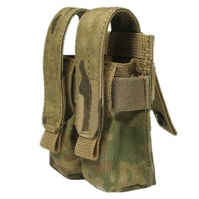Flyye Tactique Double 9 mm Magazine Ammo Pouch Ver. Fe Syteme Multicam Camo