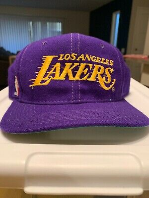 buy popular 09e6c 0e7fe los angeles lakers vintage snapback Sport Specialties Wool