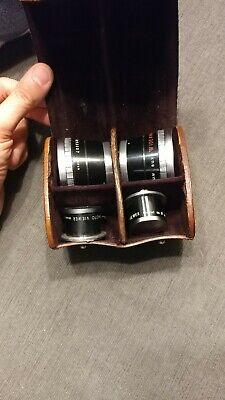Sun Telephoto & Wide Angle Lens Set for Twin Lens Reflex Rolleiflex Camera