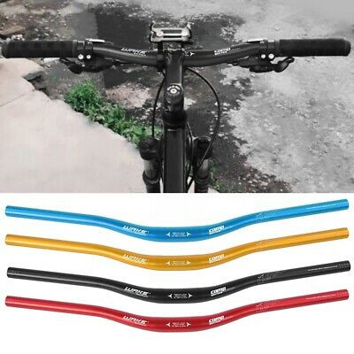 WAKE 4 Colors Mountain Bike Handlebars Bike Riser Bar 31.8*680mm Aluminum Alloy