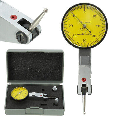Professional Lever Dial Test Indicator Meter Tool Kit Precision 0.01mm Gage USA