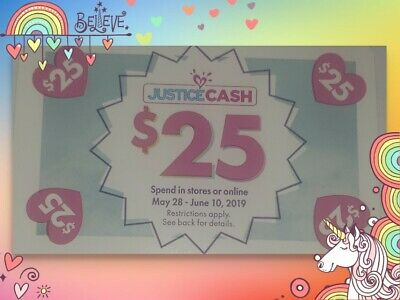 Justice Cash QTY of 2