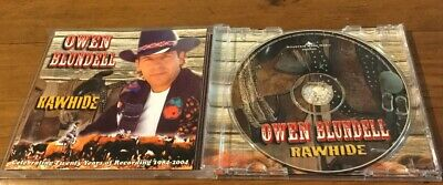 Owen Blundell Rawhide CD 20th Anniversary Australian Country 2004 Release