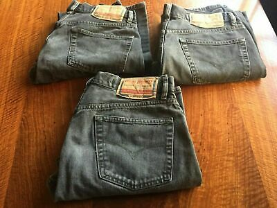 Diesel Vintage Jeans 1990'S Black Basic Style 2 X 32 & 1 X 33 Made In Italy