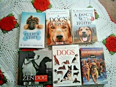 LOT of W. Bruce Cameron books, Dog books. Zen Dog. A Dogs Purpose