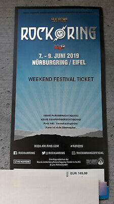 +++ Rock am Ring 7-9 Juni 2019 - Weekend Festival Ticket +++