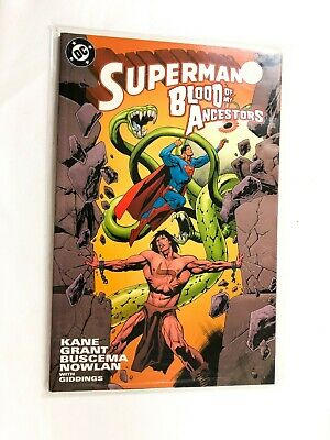 Superman Blood Of My Ancestors Kane, Buscema, Prestige Format