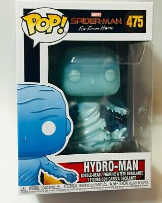 FUNKO Pop Marvel SPIDER-MAN Far From Home HYDRO-MAN #475 4in Vinyl Figure NEW