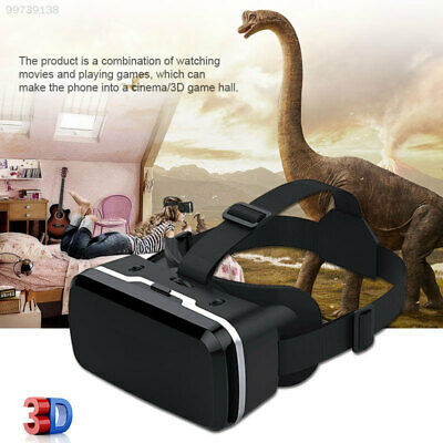 BEB8 Head-Mounted Home Universal VR Headset Glasses 4.7-6.0inch Smartphone